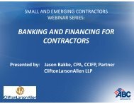 PowerPoint Presentation (PDF) - Associated Builders and Contractors