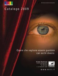 Catalogo 2009 - Film Festival Internazionale di Milano