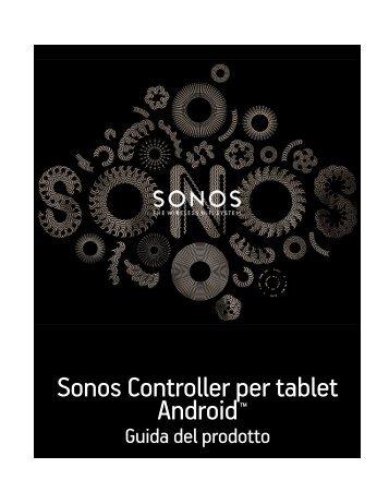 Sonos Controller per tablet Android - Almando