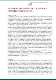 Hepatitis-C-virusinfectie - Genootschap van Maag-Darm-Leverartsen