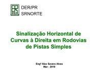 Alex Sinalizacao Horizontal em Curvas a Direita - DER