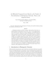 An Efficiently-Computed Lower Bound on the Number of ... - CiteSeerX