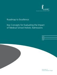 Roadmap to Excellence: Key Concepts for Evaluating the ... - AAMC