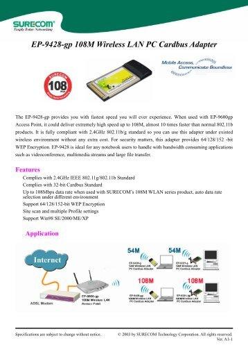 SureCom EP-9001-g(A1) Windows