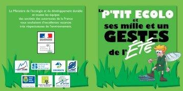 Quelques gestes pour protéger la planète (PDF : 1,5 ... - Le Petit Gibus