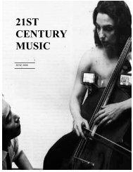 Songs of Igor Stravinsky - 21st Century Music