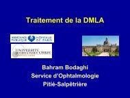 Diapositives présentées - Académie Nationale de Pharmacie