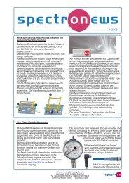 Neu: Reed-Kontakt-Manometer Ab August 2008 werden ... - Spectron
