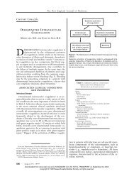 081999 Disseminated Intravascular Coagulation - the Research ...