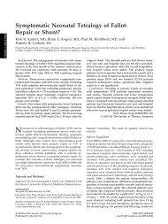 Symptomatic Neonatal Tetralogy of Fallot: Repair or Shunt?