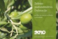 Zeleno poduzetništvo Dalmacije