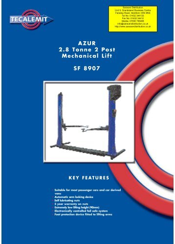 SF 8907ca.qxp - Saracen Distribution