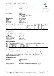 GUTACHTEN zur ABE Nr. 46559 nach §22 StVZO Anlage 4 zum ...