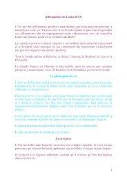 Affirmations positives - Webagoo.eu