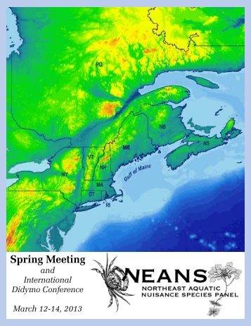Spring 2013 meeting briefing packet - Northeast Aquatic Nuisance ...