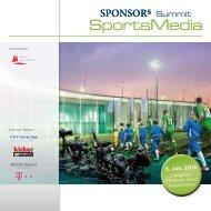 Download Programm - SPONSORs Sports Media Summit