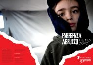 Emergenza Abruzzo - Save the Children Italia Onlus