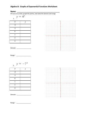 graphing exponential functions worksheet worksheets releaseboard free printable worksheets and. Black Bedroom Furniture Sets. Home Design Ideas