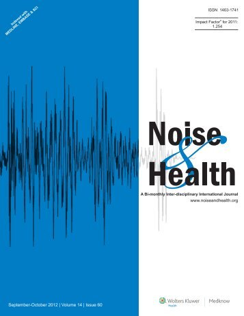 Effects of industrial wind turbine noise on sleep and health