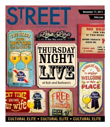 THURSDAY - 34th Street Magazine