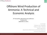Offshore Wind Production of Ammonia - Conference Planning and ...