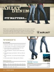 FIT MATTERS… - Just Country Australia