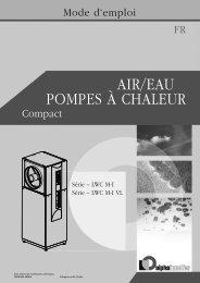 PomPes à Chaleur air/eau - Dalcalor.ch