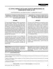 El capital humano con calidad - Publicaciones - Universidad Juárez ...