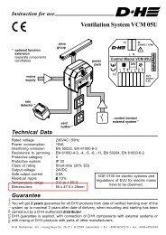 VCM 05U.pmd - D+H Mechatronic