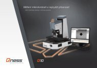 Měření mikrotvrdosti s nejvyšší přesností
