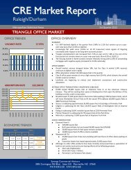 2012-1st Quarter Raleigh/Durham Market Report - Synergy ...