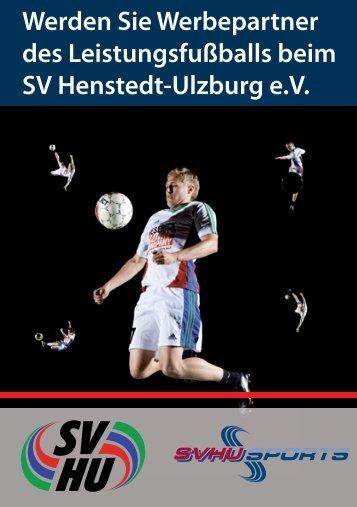 Werden Sie Werbepartner des Leistungsfußballs beim SV Henstedt ...