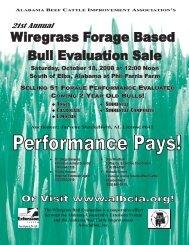 Wiregrass - AL BCIA