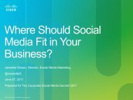 Where Should Social Media Fit in Your Business? - iGo2