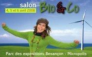 Parc des expositions Besançon - Micropolis - Salons bio ...