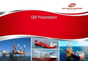 GSP Company Presentation - Grup Servicii Petroliere SA