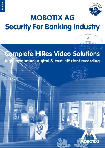MOBOTIX AG Security For Banking Industry