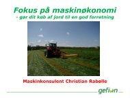 Fokus på maskinøkonomi gør dit køb af jord til en god forretning