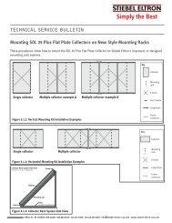 Technical Service Bulletin | Mounting SOL 25 Plus ... - Stiebel Eltron