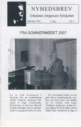 Nr. 3 - Oktober 2007 - Johannes Jørgensen Selskabet