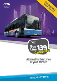 Bus Line139 Cancelled