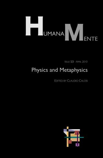 download the complete pdf of the issue - Humana.Mente