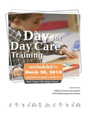 Training - Child Care Services Association