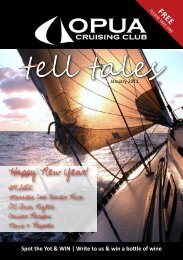 Tell Tales January 2012 - Opua Cruising Club