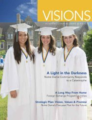 A Light in the Darkness - Academy of Notre Dame de Namur