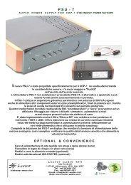 catalogo PSU-7 - Lector-audio.it
