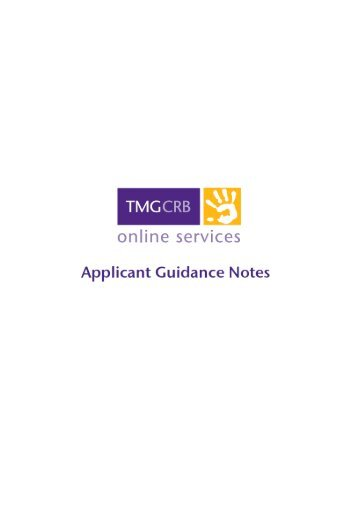 Applicant guidance notes DRAFT _3_ - TMG CRB