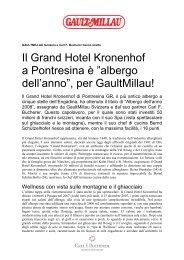 Hotel dell'anno GaultMillau 2008. (PDF 60 KB - Grand Hotel ...