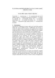 Le caratteristiche dei servizi pubblici locali - Unisi.it - Università degli ...