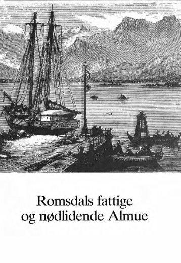 Romsdals fattige og nødlidende Almue - Romsdal Sogelag